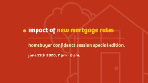 Impact of new mortgage rules blog