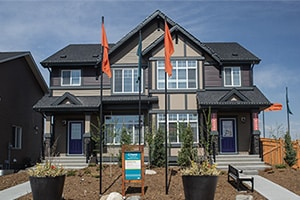 Hudson and Denver Duplexes in Heartland in Cochrane, AB