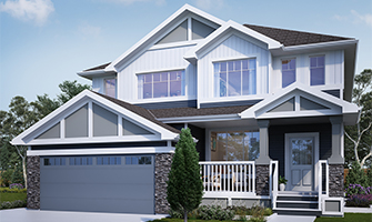 Landon-Maxwell Duplex Home by Rohit Communities